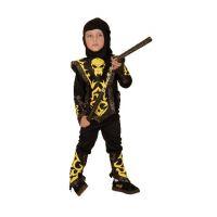 Hm Studio Dětský kostým Ninja vel. 92-104 cm