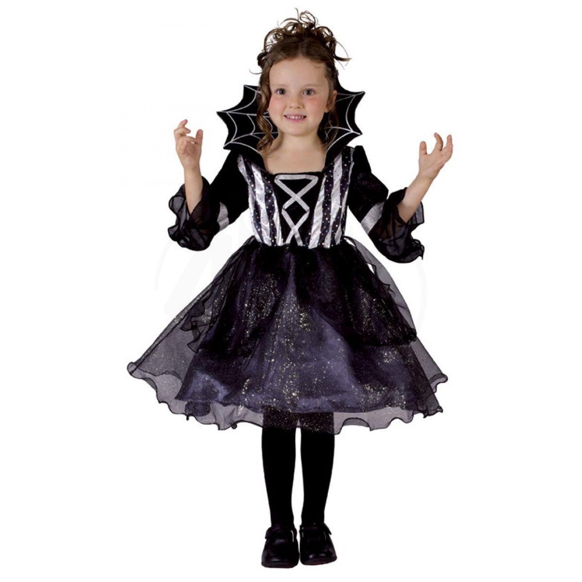 HM Studio Dětský kostým Pavoučí dívka 92 - 104 cm c8454e70d4a