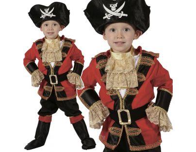 HM Studio Dětský kostým Pirát 92 - 104 cm