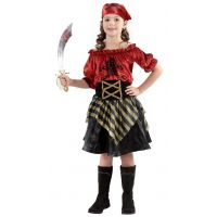 HM Studio Dětský kostým Pirátka 110 - 120 cm