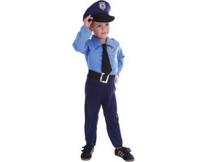 HM Studio Dětský kostým Policista 92-104cm - Poškozený obal