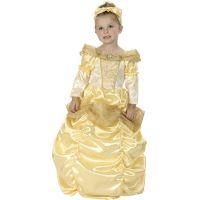 HM Studio Dětský kostým Princezna zlatá 92-104 cm