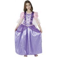 HM Studio Dětský kostým Princezna Fialové šaty 110-120 cm