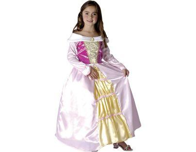 HM Studio Dětský kostým Princezna Bílé šaty 130-140 cm