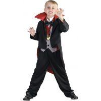 HM Studio Dětský kostým Upír 130-140 cm