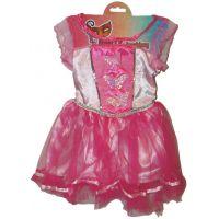 HM Studio Dětský kostým Víla růžová