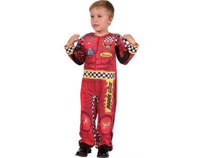HM Studio Dětský kostým Závodník 92-104 cm