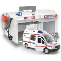 HM Studio Garáž Ambulance 1:32