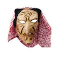 HM Studio Gumová maska ježibaba