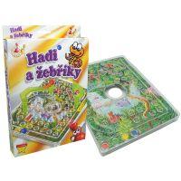 HM STUDIO 153336 - Hadi a žebříky (cestovní hra)