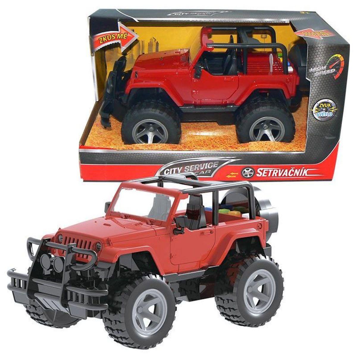 HM Studio Jeep 1:16 se setrvačníkem