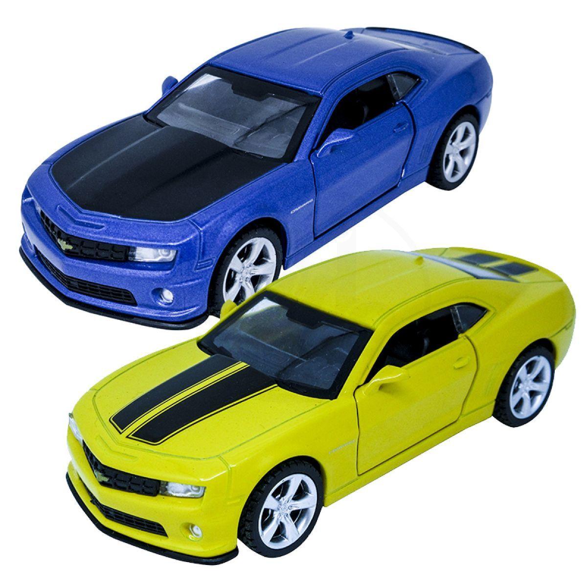 HM Studio kovový model Chevrolet Camaro SS 1:43 - Modré