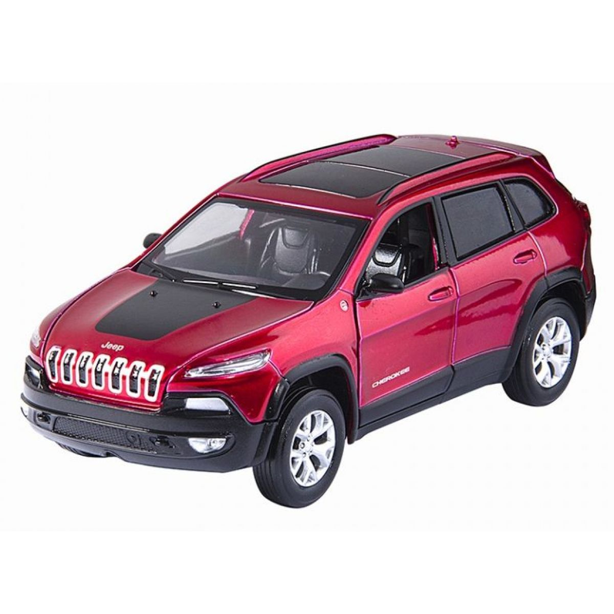 HM Studio kovový model Jeep Cherokee 1:32