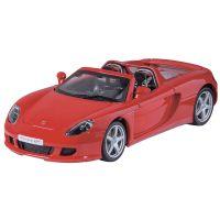 HM Studio kovový model Porsche Carrera GT 1:24