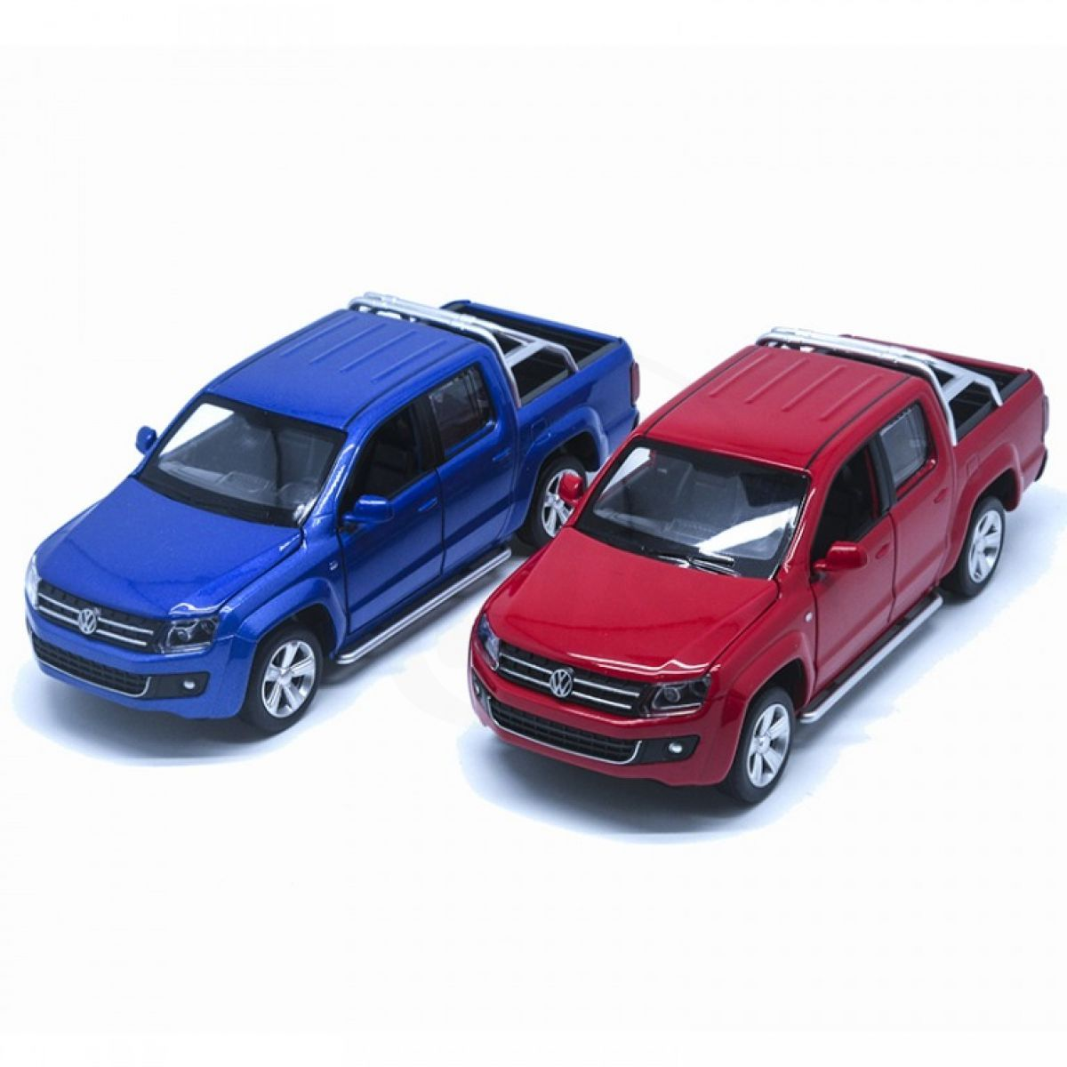 HM Studio kovový model Volkswagen Amarok 1:30 červený