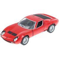 HM Studio Lamborghini Miura P400 SV 1971 červené
