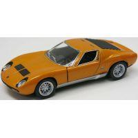 HM Studio Lamborghini Miura P400 SV 1971 oranžové