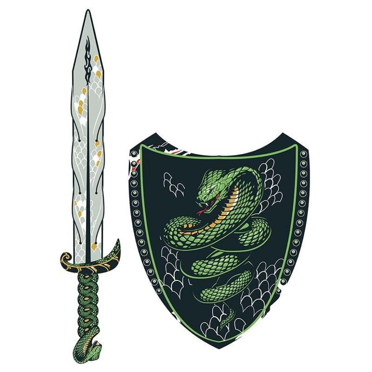 HM Studio Meč a štít Had
