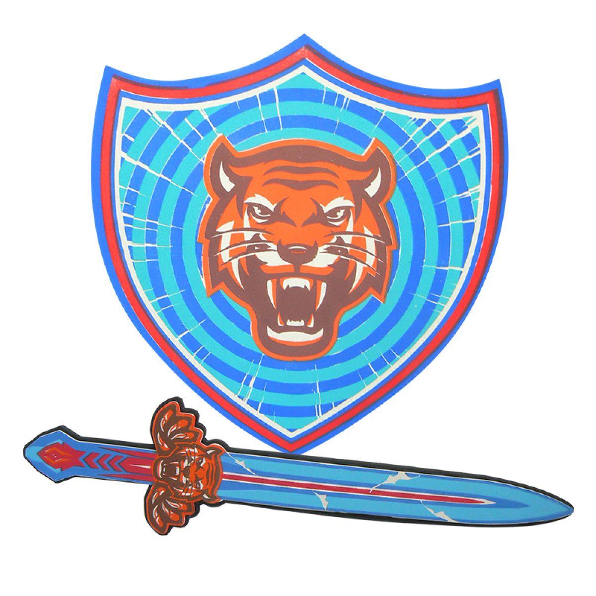 HM Studio Meč a štít Tygr