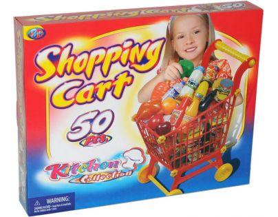 Hm Studio Nákupní vozík Supermarket 50ks