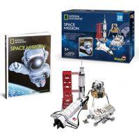 HM Studio National Geographic Puzzle 3D Vesmírná mise - 80 dílků