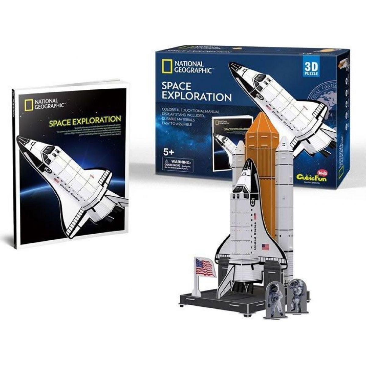 HM Studio Puzzle 3D Vesmírný průzkum NG 65 dílků
