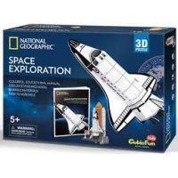 HM Studio Puzzle 3D Vesmírný průzkum NG 65 dílků 3