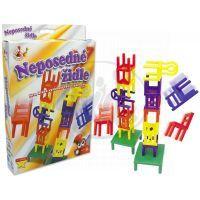 Hm Studio Neposedné židle cestovní hra