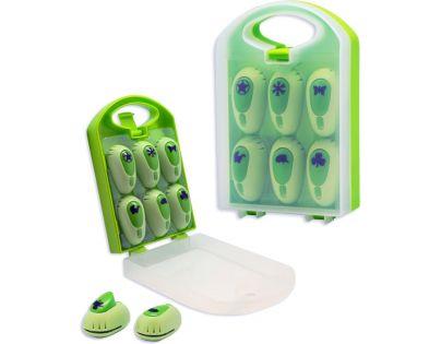 Hm Studio Ozdobné děrovačky 6ks zelené