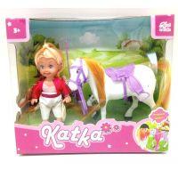 HM Studio Panenka Katka s koněm