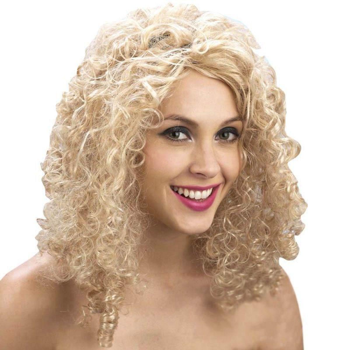 HM Studio Paruka s blond vlasy