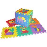 HM STUDIO 145070D - Pěnové puzzle zvířátka 30 x 30 cm (10 dílků)