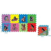 HM Studio Pěnové puzzle Krtek 8ks