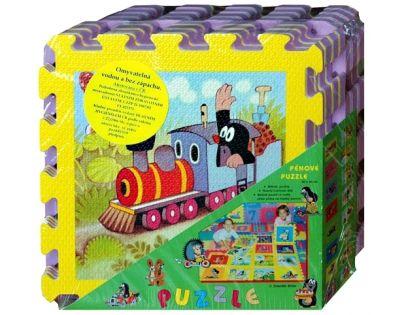 HM STUDIO 145070PK2 - Pěnové puzzle Krtek 30x30 8ks