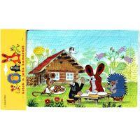 Hm Studio Pěnové puzzle Krtek 6 ks obrázek 2 2