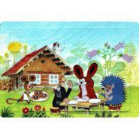 Hm Studio Krteček Pěnové puzzle Krtek 6ks obrázek 2