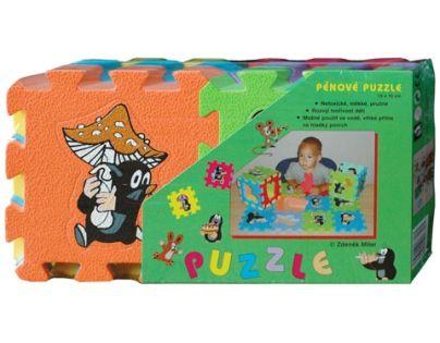 HM STUDIO 145050PK - Pěnové puzzle Krtek 6 dílků 15 x15cm