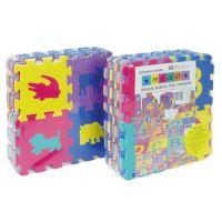 HM STUDIO 145050D10 - Pěnové puzzle zvířátka 15 x 15 cm (36 dílků)