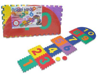 Hm Studio Pěnové puzzle skákací panák