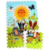 HM STUDIO 145070PK3 - Pěnové puzzle Krtek 30x30 6ks