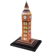 HM Studio Puzzle 3D Big Ben LED 28 dílků