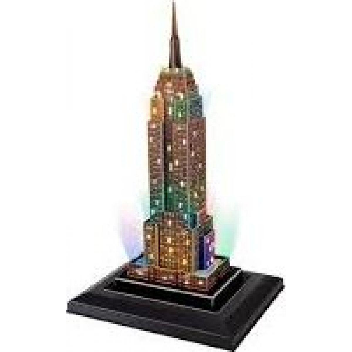 CubicFun 3D puzzle svítící Empire State Building 38 ks