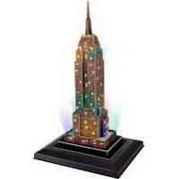 HM Studio Puzzle 3D Empire State Building led - 38 dílků