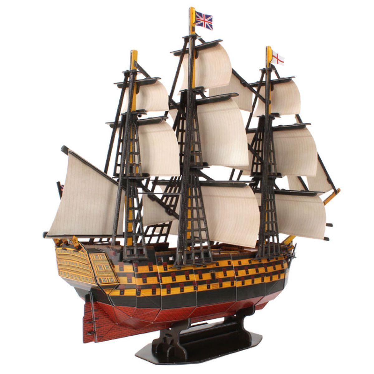 CubicFun 3D Puzzle Loď HMS Victory 189 ks