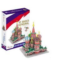 HM Studio Puzzle 3D Katedrála sv. Bazila - 92 dílků