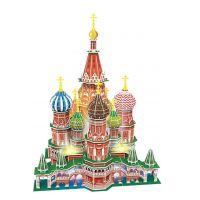 HM Studio Puzzle 3D Chrám Vasila Blaženého Led 224 dílků
