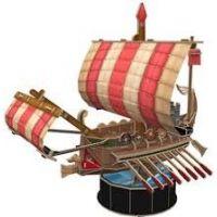 HM Studio Puzzle 3D Roman Warship - 85 dílků