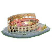 HM Studio Puzzle 3D The Colosseum LED 185 dílků