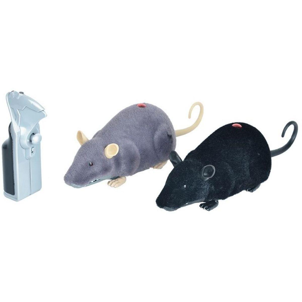 HM Studio RC Myš - černá
