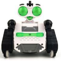 HM Studio RC Robot bílozelený